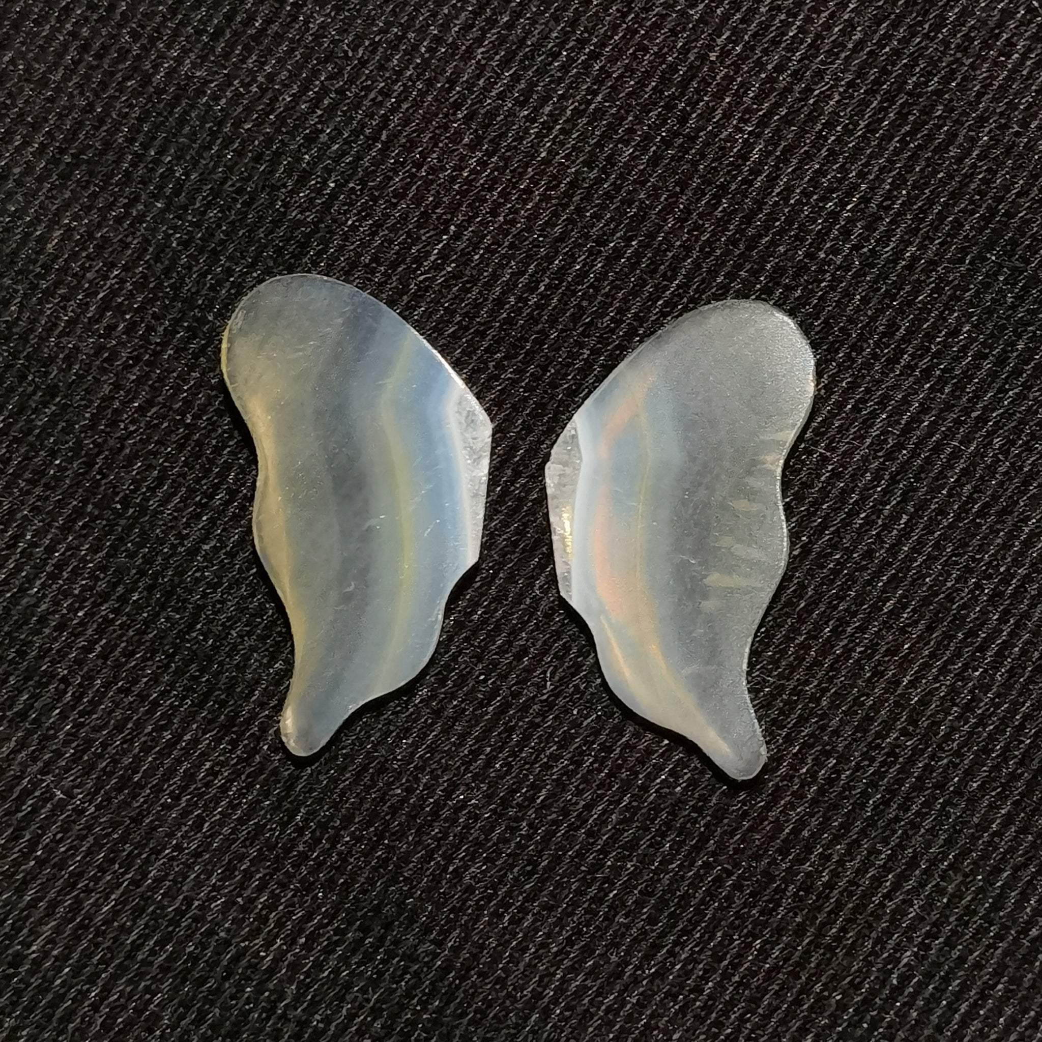 Iris Agate Butterfly Wings