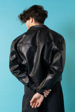 Load image into Gallery viewer, Vintage Jean Paul Gaultier Junior PU leather jacket.