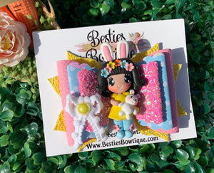 "Easter Cutie 4.5"" Bow"