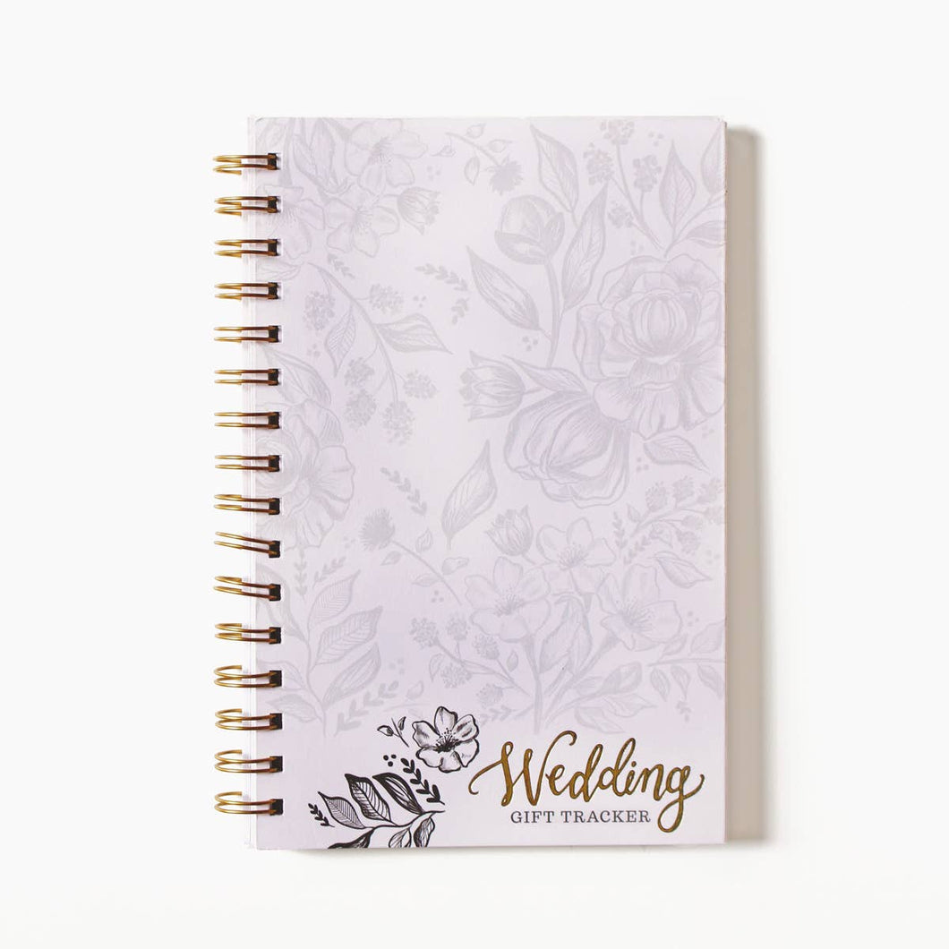 bridal & wedding gift tracker notebook
