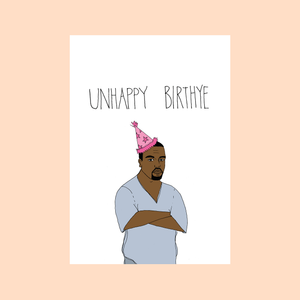 unhappy birthye card