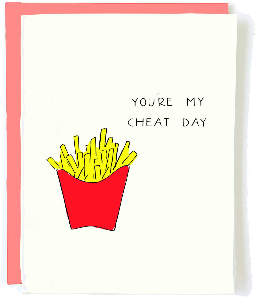 Cheat Day Love Card