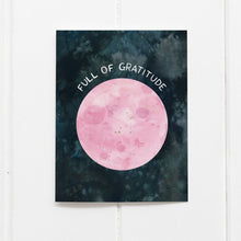 Load image into Gallery viewer, Full Moon Thank You Card