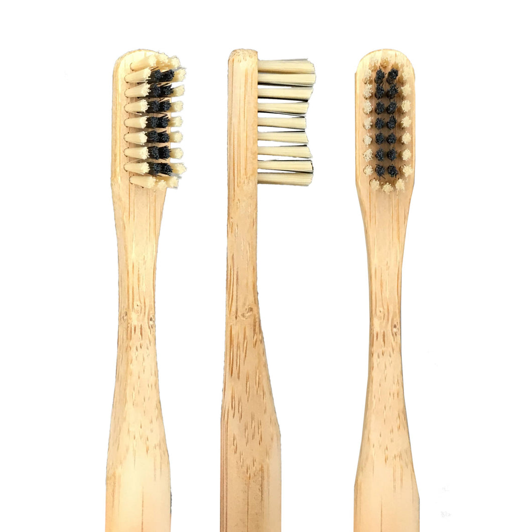 bamboo and charcoal toothbrush