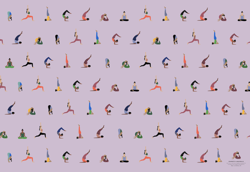 Yoga Wrapping Paper