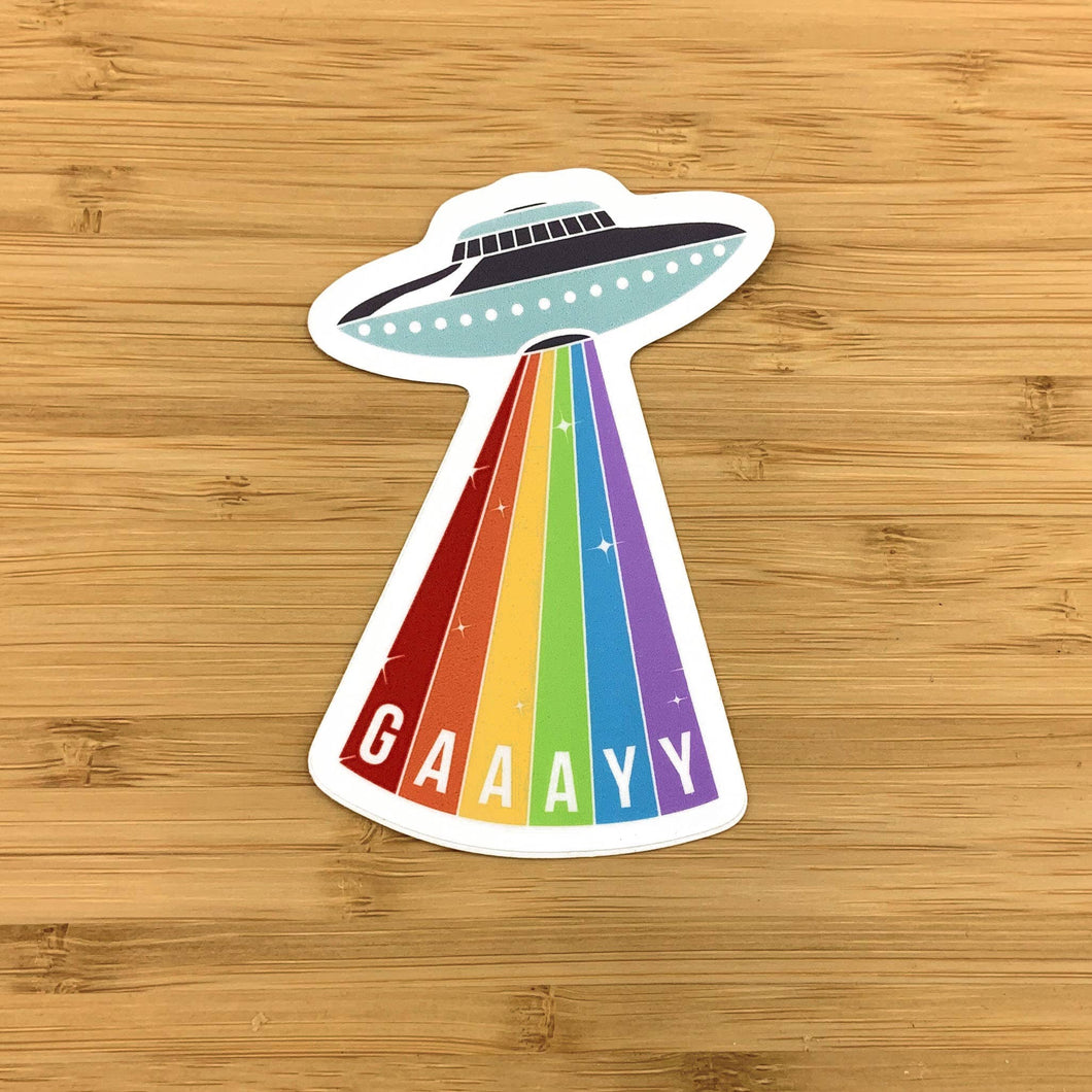 Gay Rays Sticker