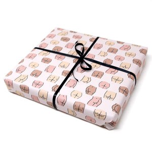 butts gift wrap