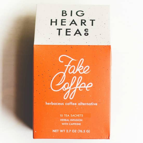 fake coffee tea