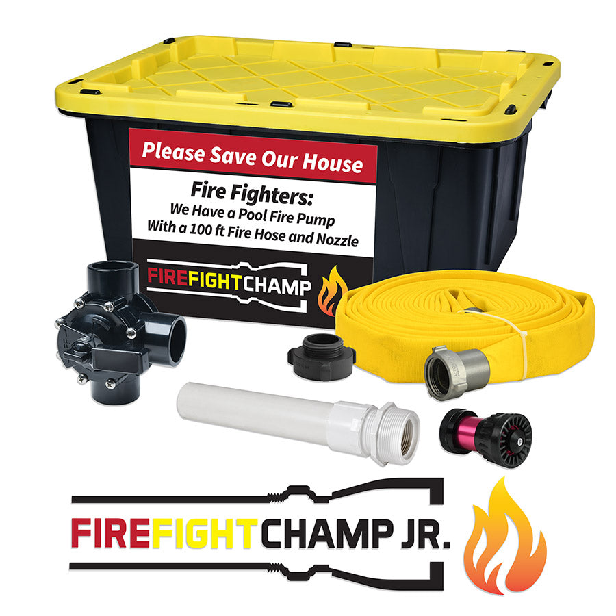 Fire Fight Champ Jr. -Electric Pool Pump System