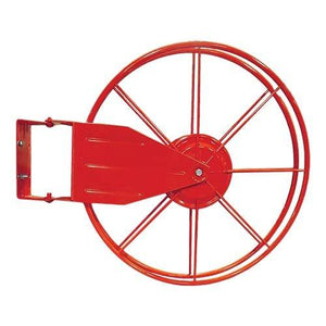 "Red 1 1/2"" Fire Hose Reel with Cover"