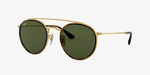 shades-of-charleston - Ray-Ban 3647 Round Double Bridge - Ray-Ban - Sunglasses