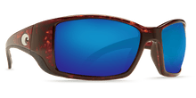 Load image into Gallery viewer, Costa Blackfin Tortoise Blue Mirror Lenses