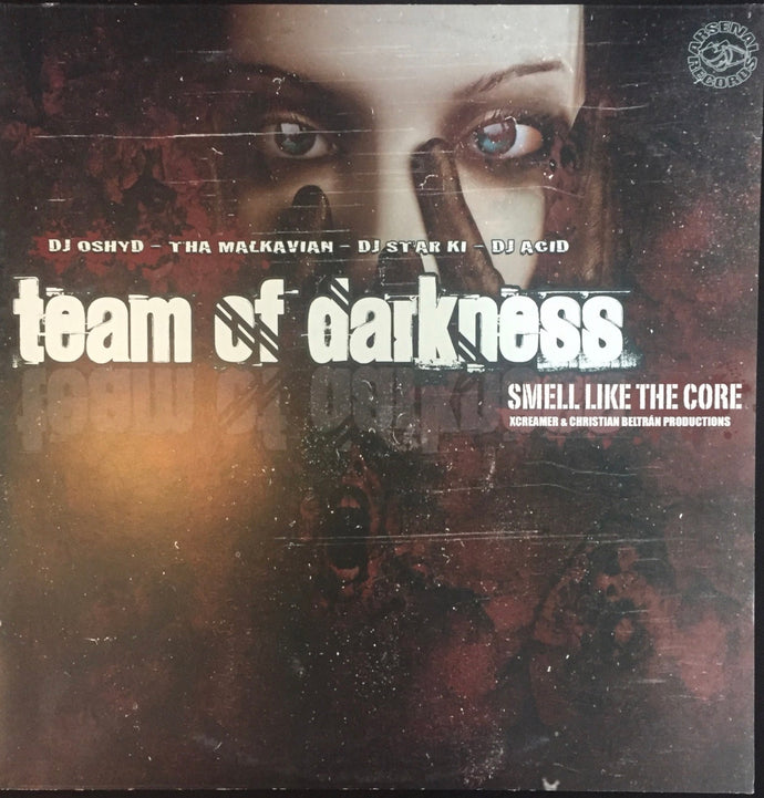 Vinilo Team of Darkness.- SMELLS LIKE THE CORE