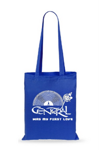 "Bolsa de viaje ""CENTRAL WAS MY FIRST LOVE"" azul"