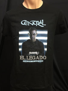 Camiseta Legado negra digital