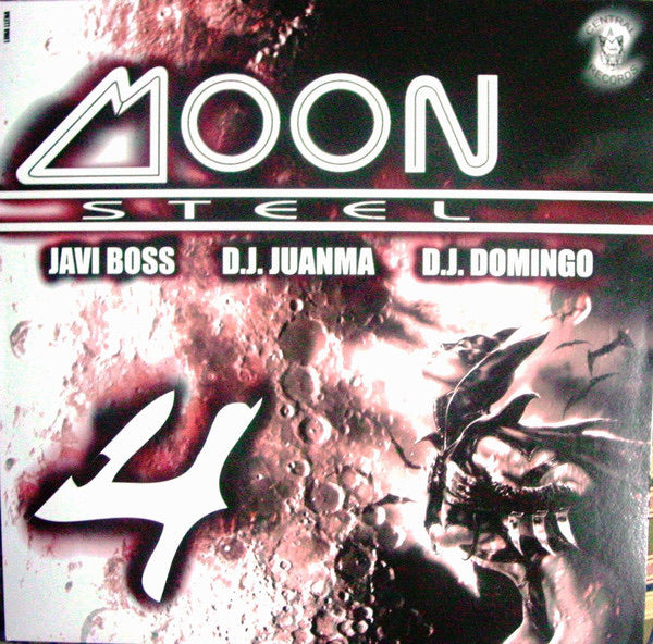 Vinilo Moon Steel by Javi Boss-Dj Juanma-Dj Domingo.- VOL.4
