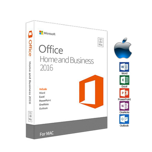 Microsoft Office for Mac 2016 Home and Business 2PC オンラインコード・プロダクトキー ダウンロード版