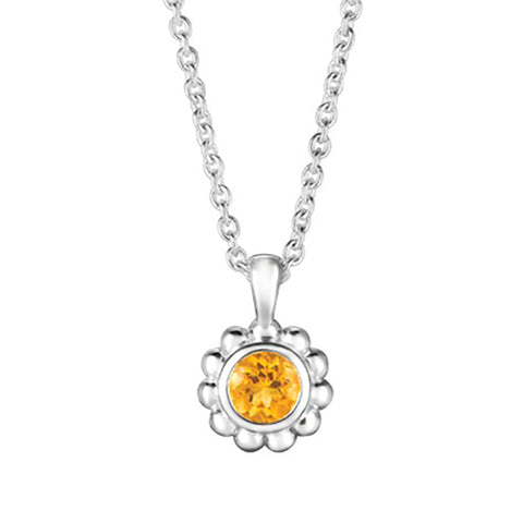 Citrine Sparkler Necklace