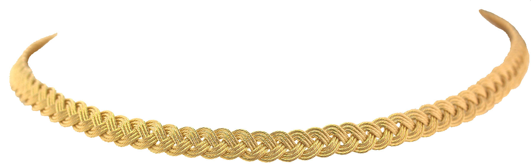 7mm Braid Necklace