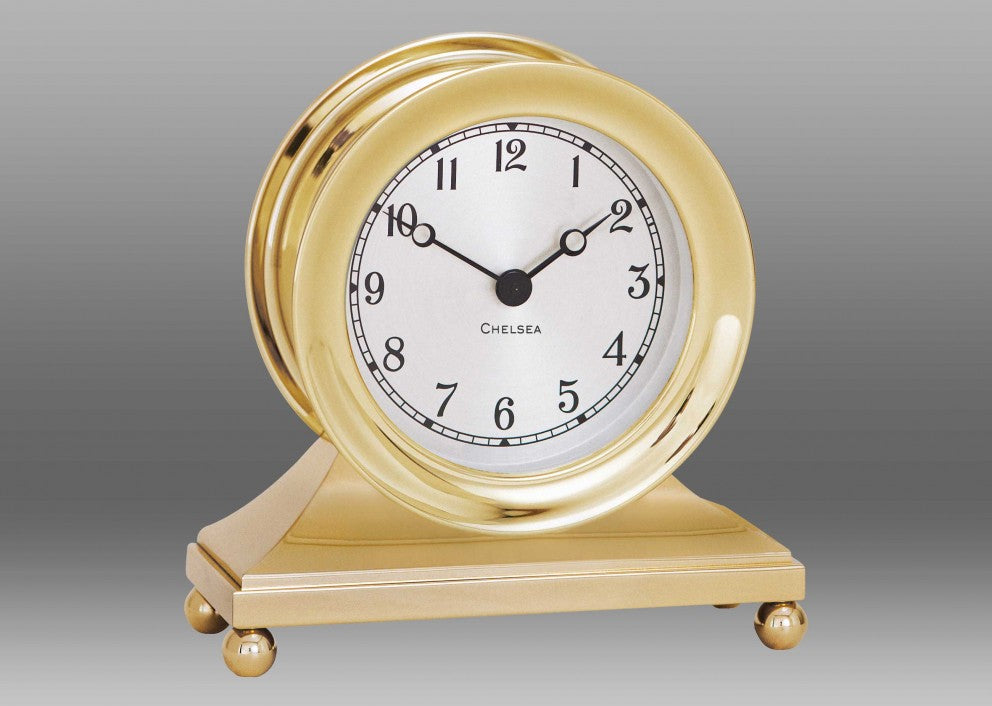 Brass Constitution Clock