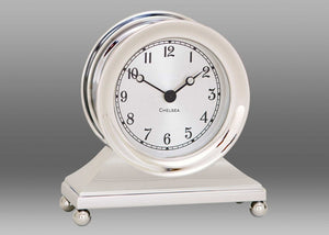 "Nickel ""Constitution"" Desk Clock"