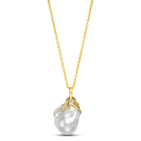 Baroque Freshwater Pearl Pendant