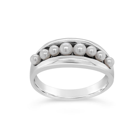 Cultured Pearl Tiara Ring