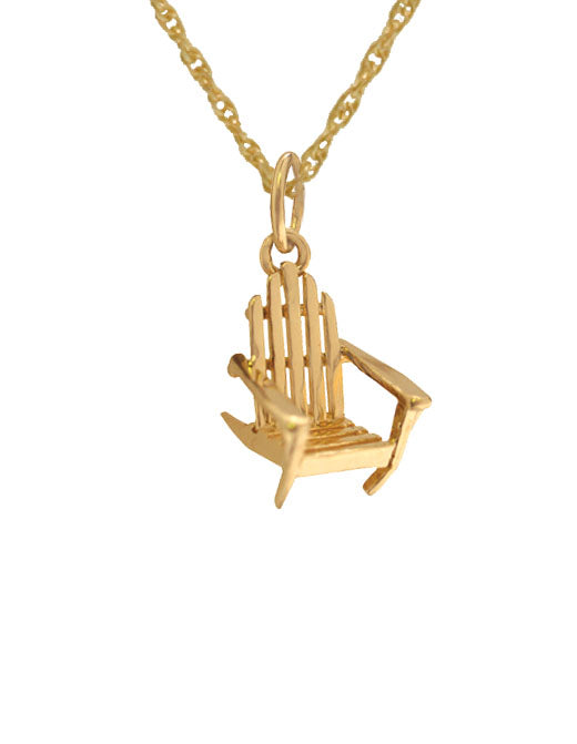 Tiny Adirondack Chair Charm