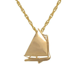 Beetle Cat Sailboat Pendant