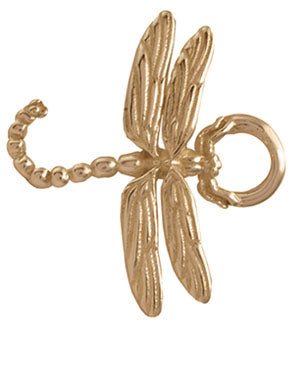 Gold Dragonfly Bracelet Top
