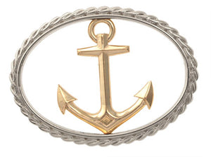 Large Anchor Bracelet Top