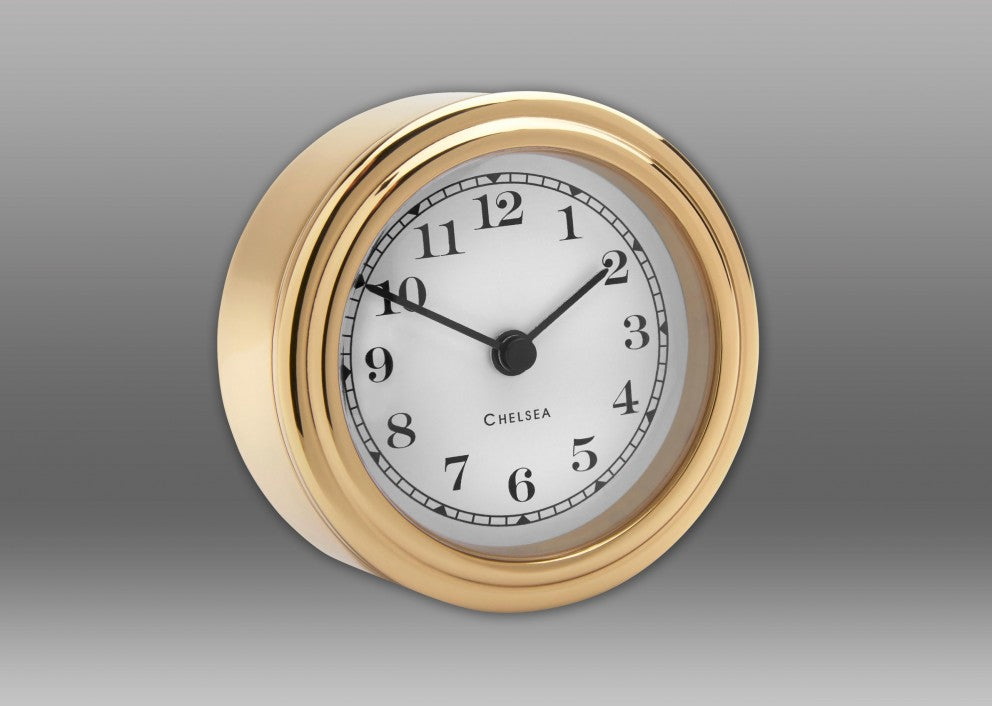 "Brass ""Harwich"" Desk Clock"