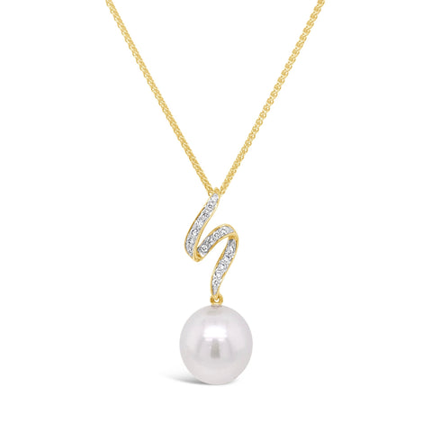 South Sea Pearl & Diamond Pendant