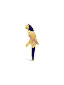 Gemstone Parrot Pin