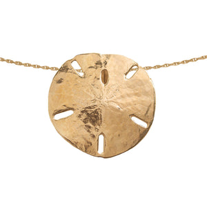 Large Gold Sand Dollar Slide