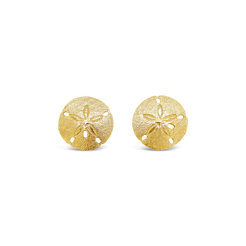 Medium Sand Dollar Earrings