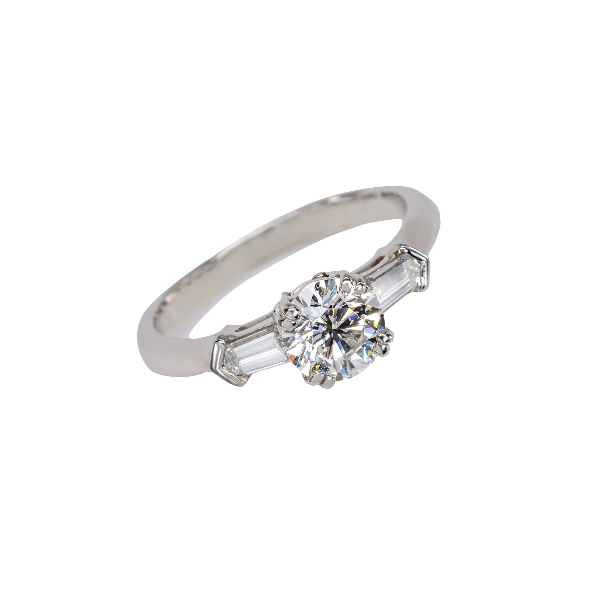 0.91 Carat Diamond Ring