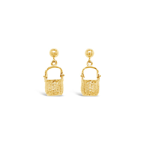 Nantucket Basket Earrings