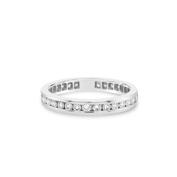 Classic Diamond Eternity Band