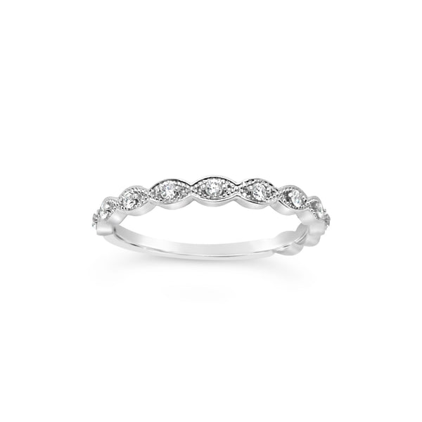 Marquise Stackable Band