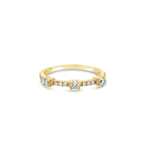 Tiara Stackable Band