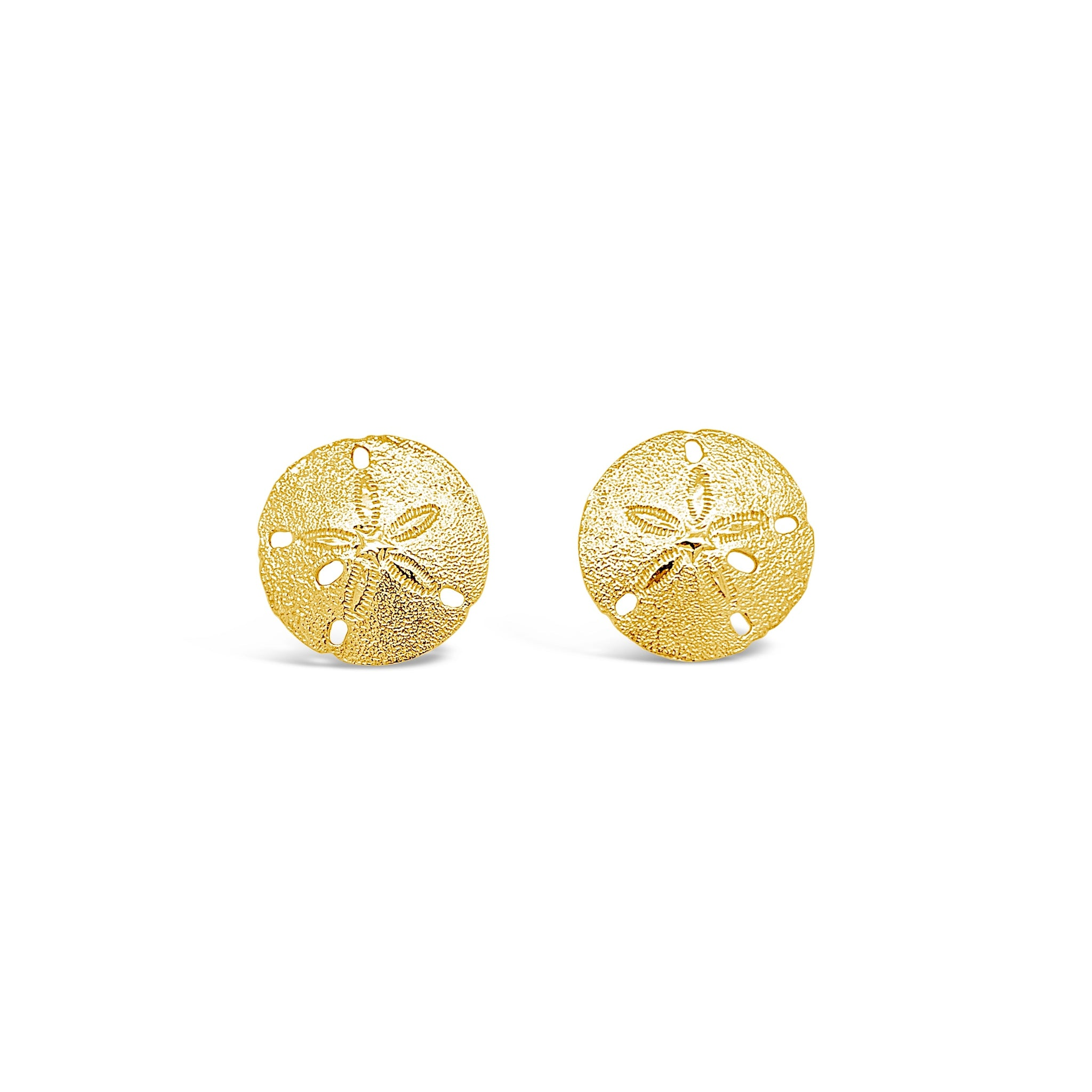 Small Sand Dollar Earrings