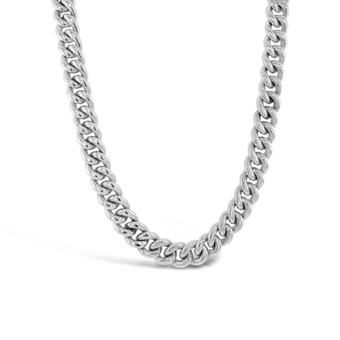 Heavy Curb Link Necklace