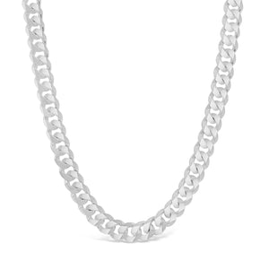 Beveled Curb Link Necklace