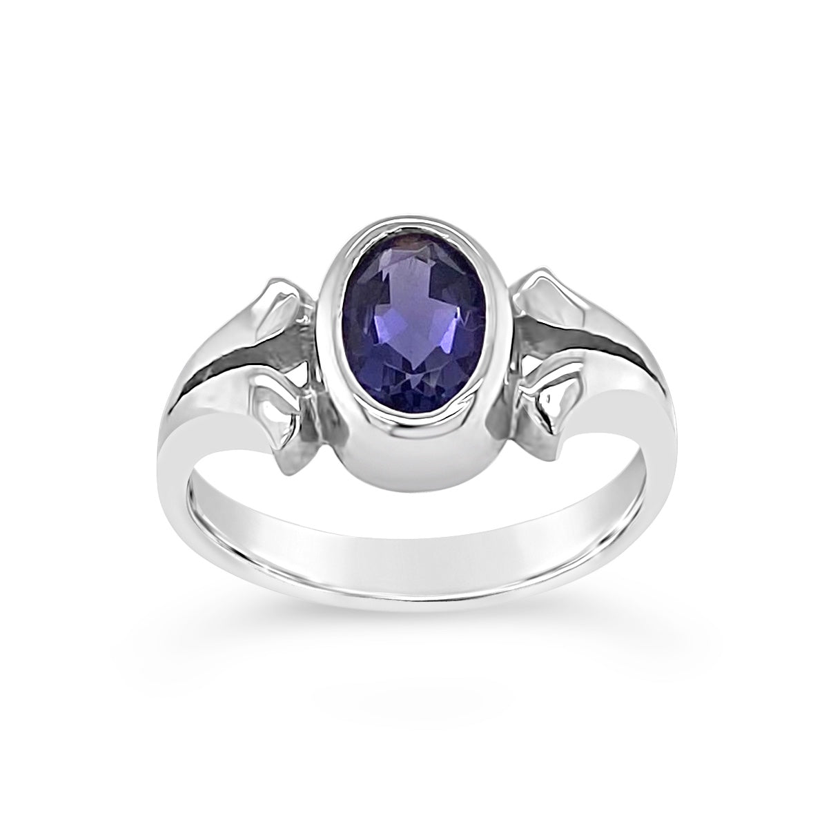 Oval Iolite Ring