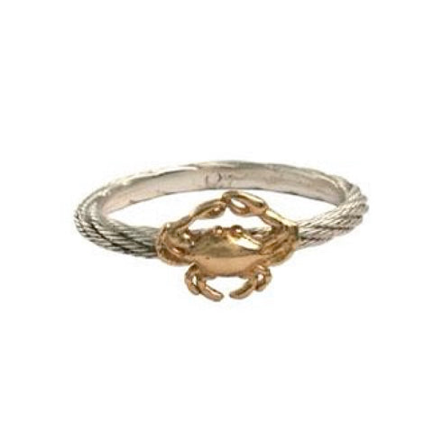 Stackable Crab Ring