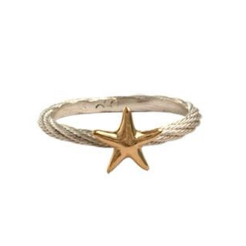 Stackable Starfish Ring