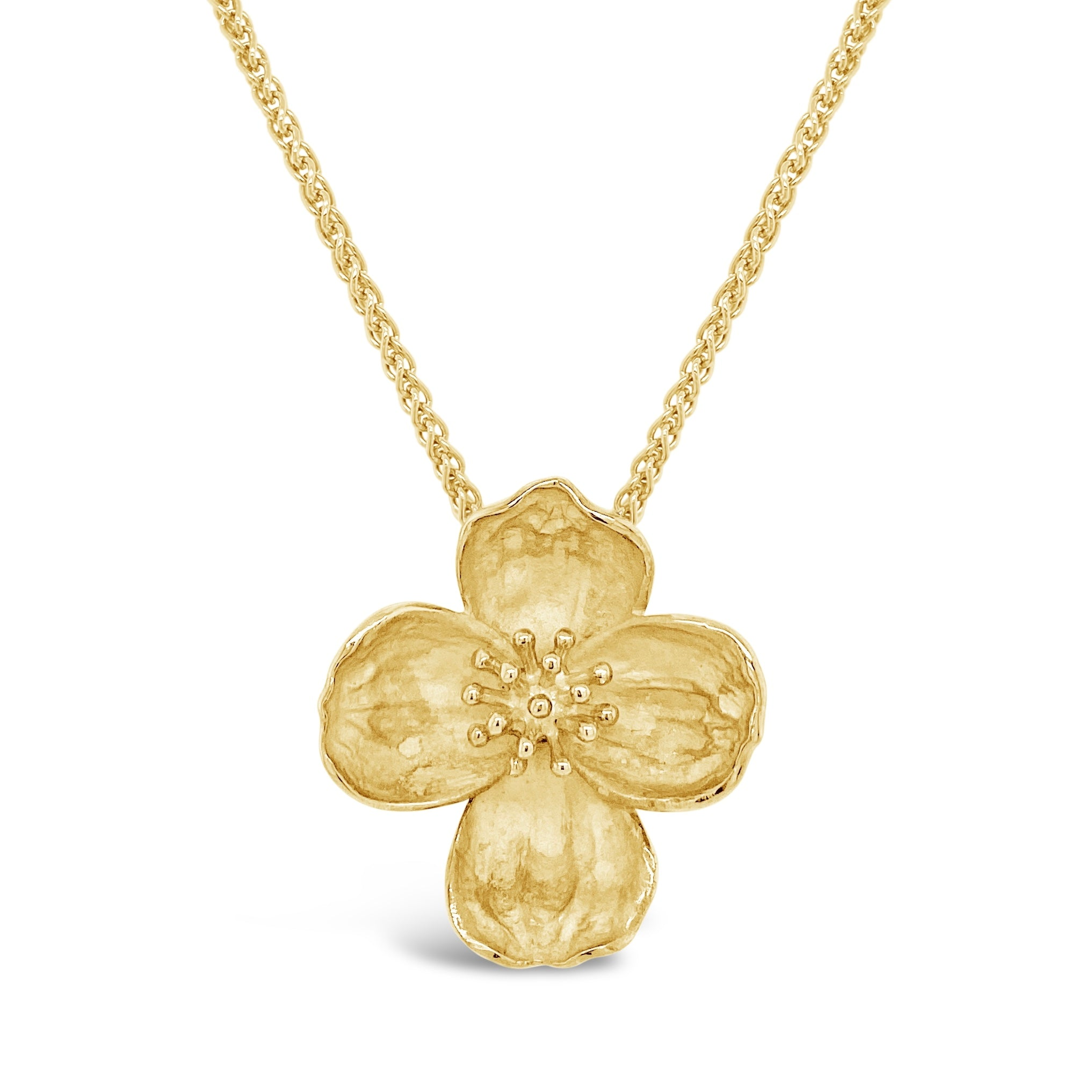 Dogwood Flower Pendant
