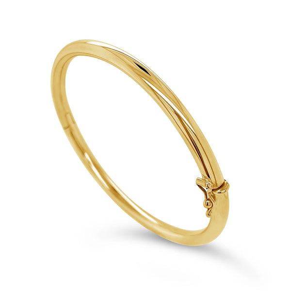 Hinged Tubular Bangle Bracelet