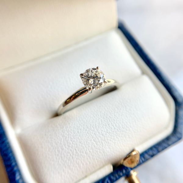 0.70 Carat Diamond Solitaire Ring